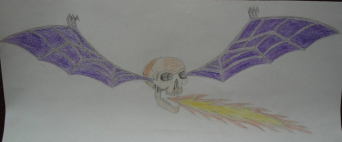 Weird death bat (Avenged Sevenfold)
