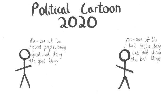 Political Cartoon 2020
