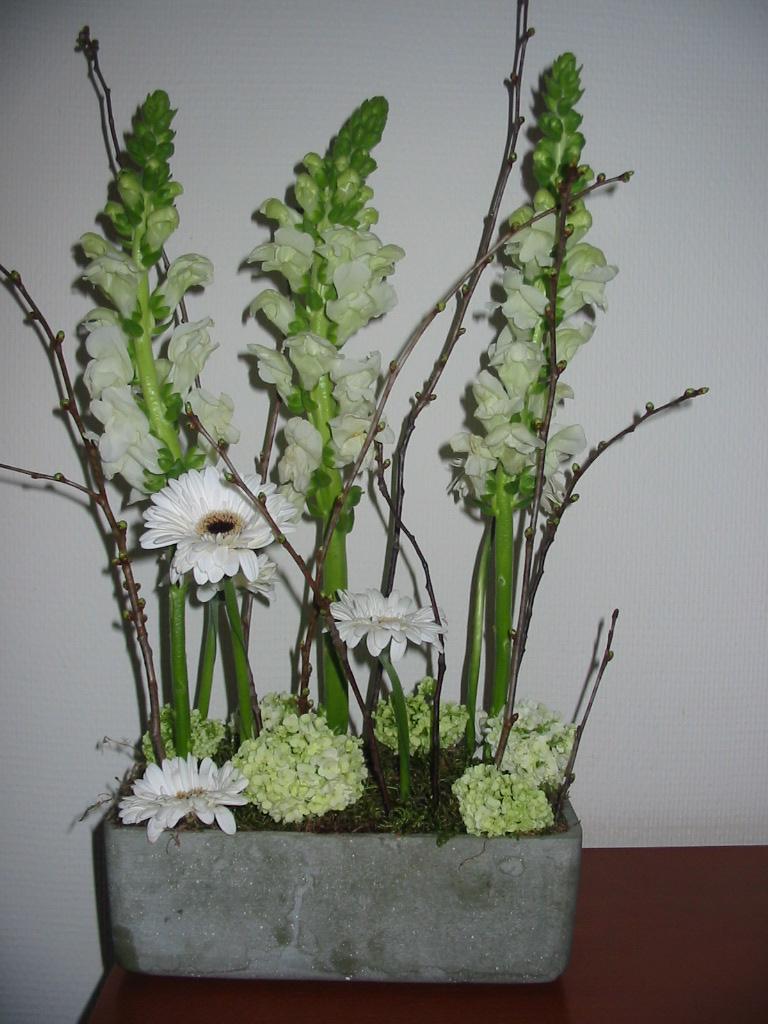 Parallel bloemstukken  Portfolio Willemijn