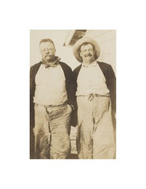 Teddy Roosevelt and Russel Coles