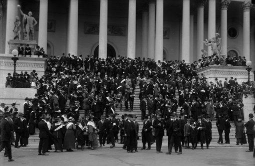 Anti-war Protesters in Washington, DC