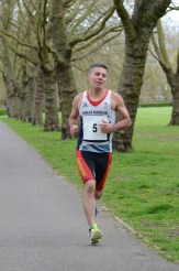 WTC Aquathlon April 2015 - participant number 5