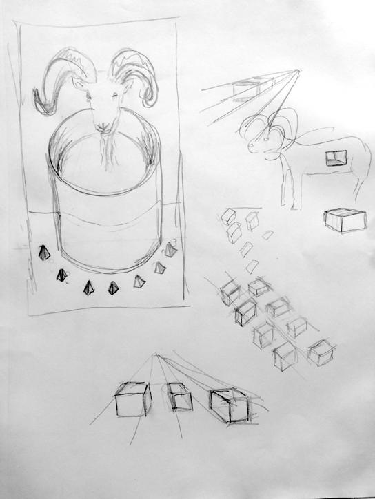Animal Sketches Drawings Art Will Eskridge