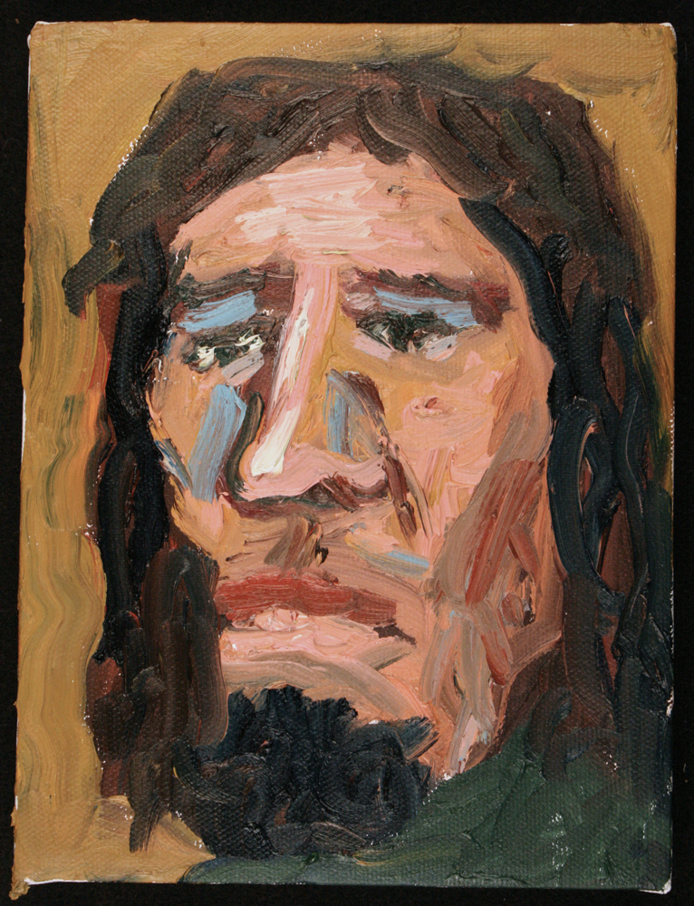 Danny 50 Faces Portrait Painting Will Eskridge