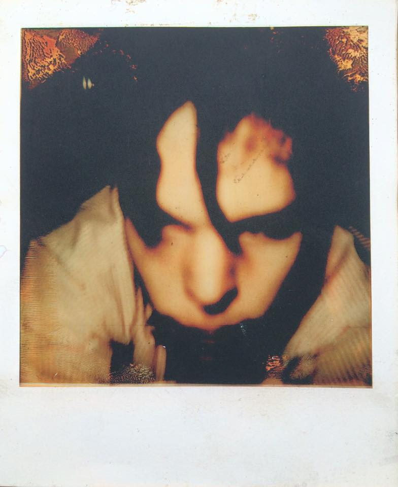 Self Portrait Polaroid Will Eskridge Artist