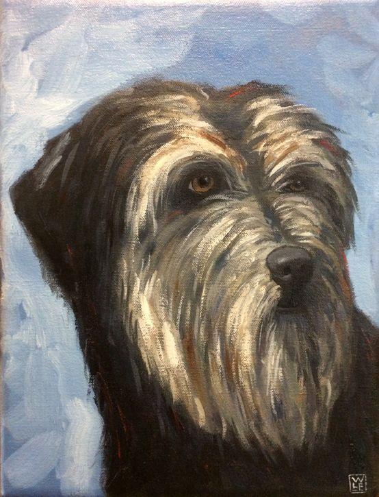 Goba Pet Portrait Animal Art Artist Portraiture Contemporary Dog Will Eskridge