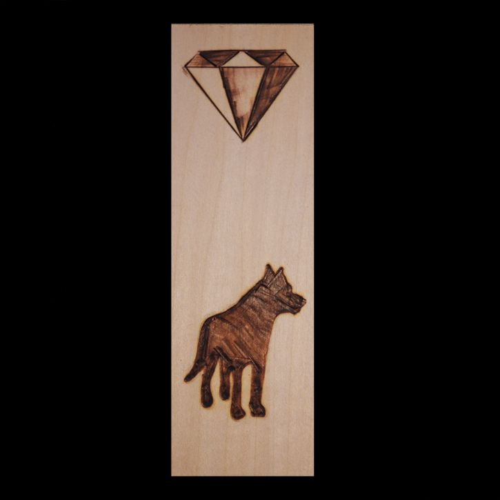Wolf Gem Bookmark Animal Artist Art Craft Will Eskridge