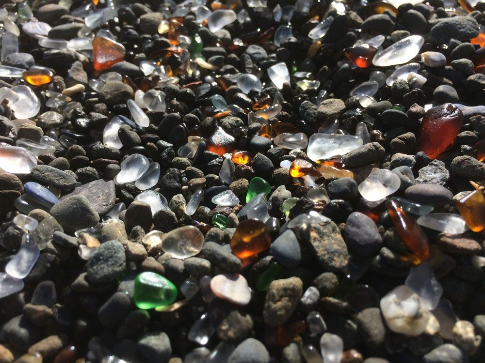 Sea Glass Beach Fort Bragg California