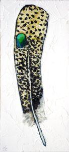 Malaysian-Peacock-Feather-animal-artist-art-painting-wildlife-Will-Eskridge-web