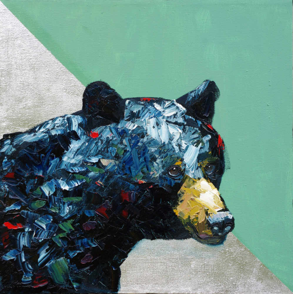 "Family Matters – Black Bear Painting (as See On Netflix's ""Love Is Blind"")"