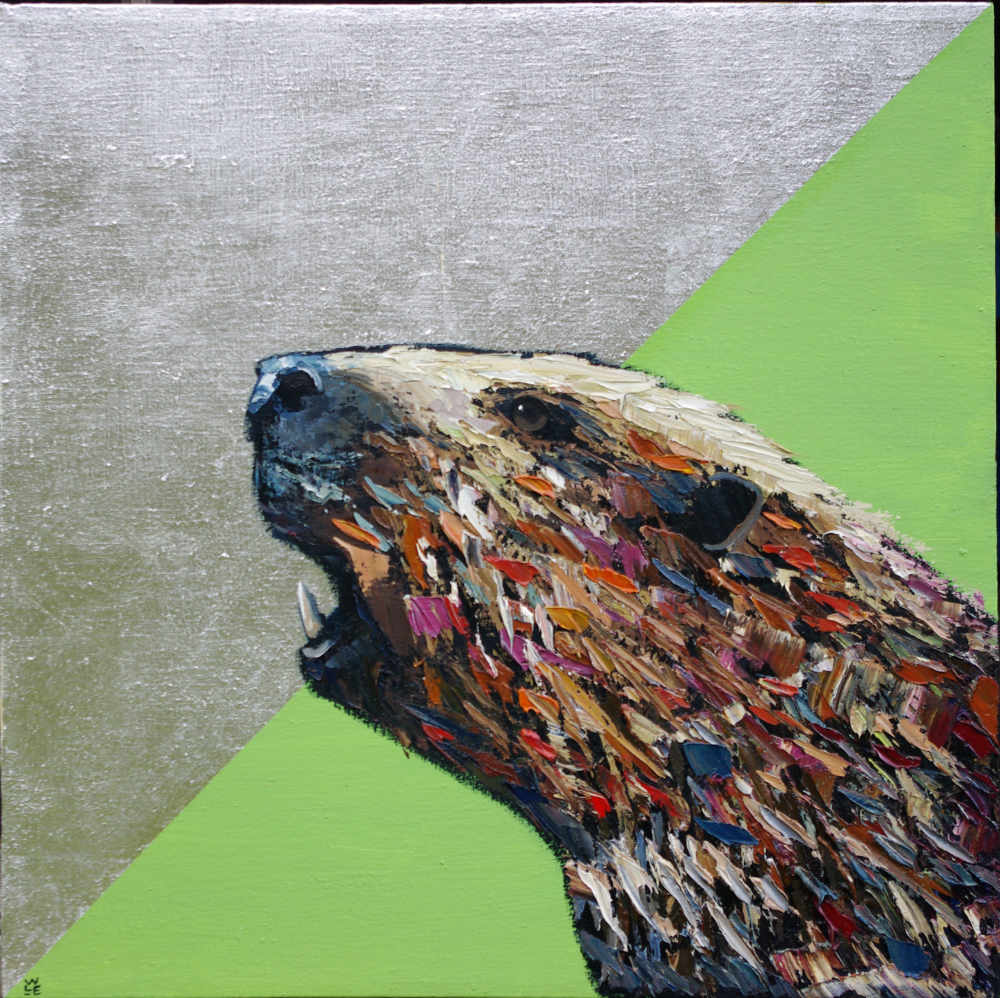 Reengineered – Beaver Painting