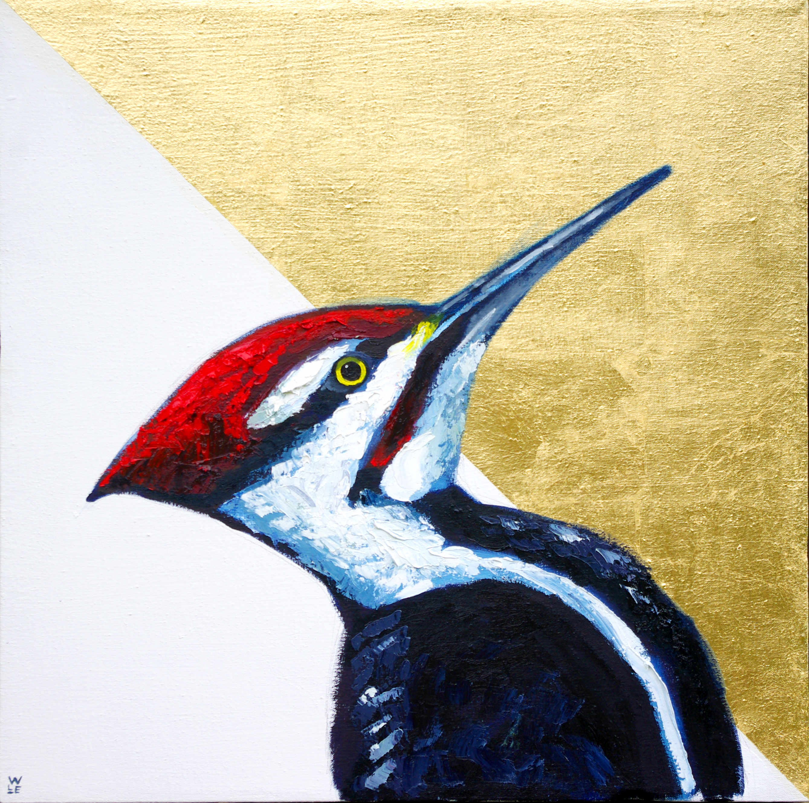 Truth Is In The Trees – Woodpecker Painting