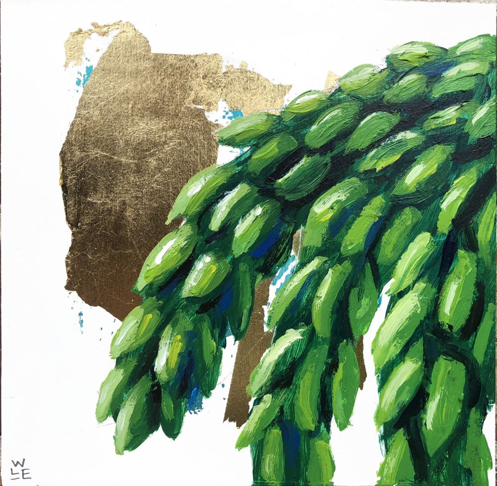 Burro's Tail Succulent Original Painting