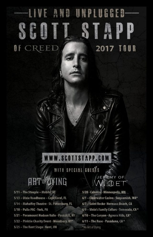 Scott Stapp Live and Unplugged