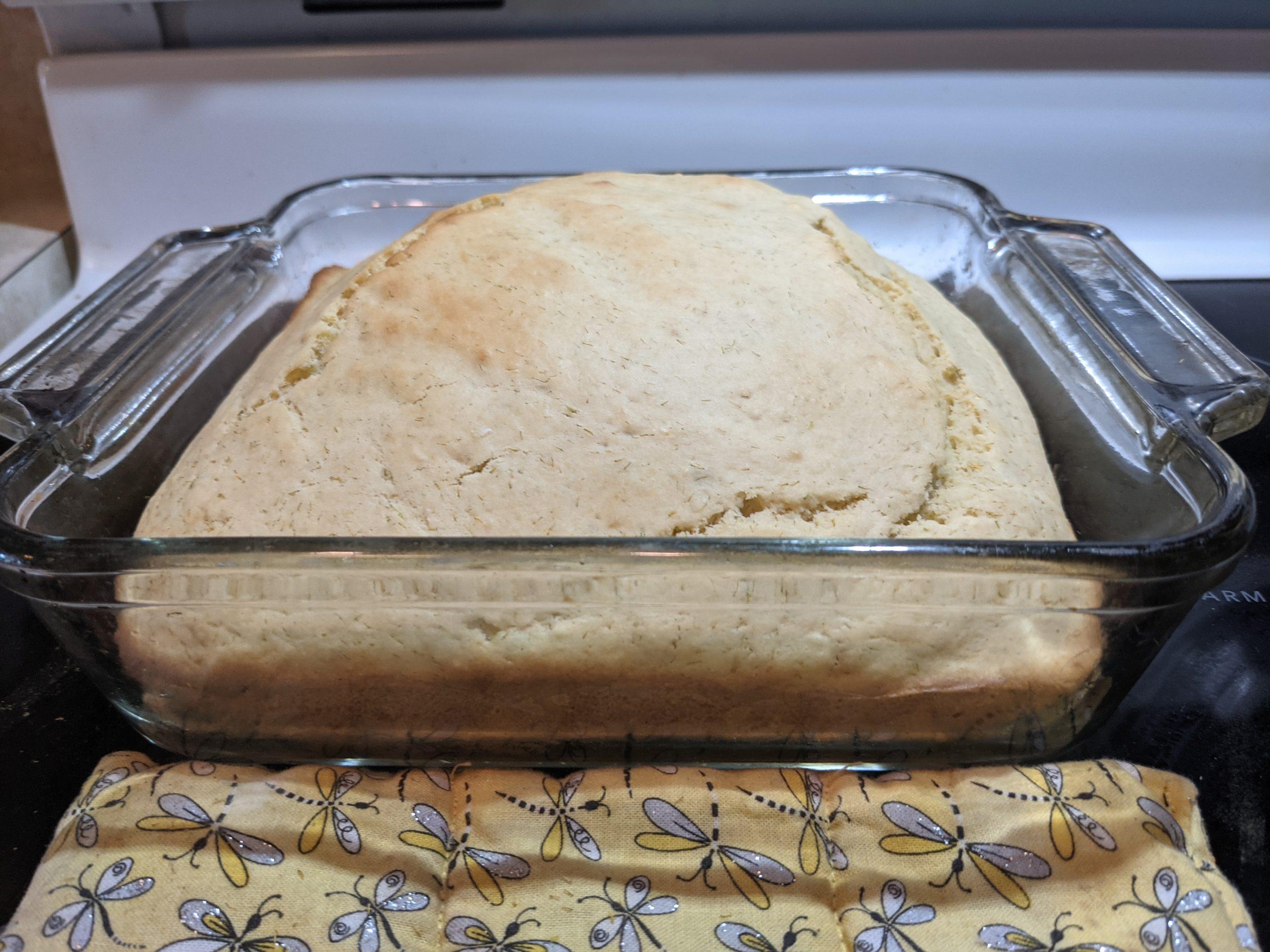 Cattail Flower Bread