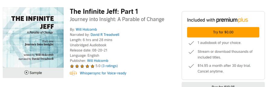 Audiobook The Infinite Jeff