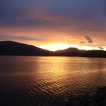 April Sunset, Loch Lomond
