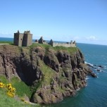 Blue Sky in June, Dunnotar Castle