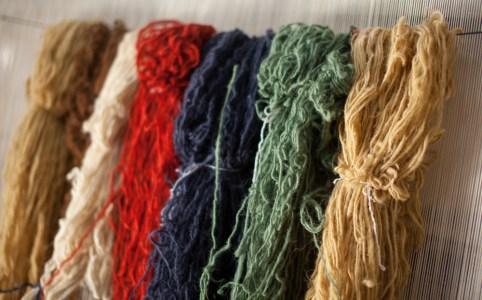 Colored Wool Where Rugs Are Made_WilliamBairamian.me