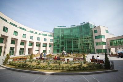 Stepanakert Hospital Courtyard_WilliamBairamian.me
