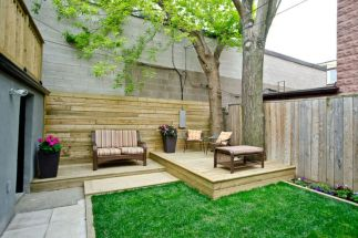 Courtyard with wood walls-PDF