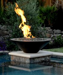 fire urn round 01