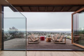 terrace with wood deck and glass rail-PDF