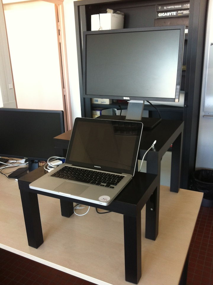 Small Standing Desk