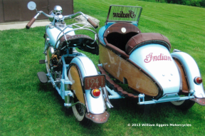 Bill Eggers: 1941 Indian With sidecar