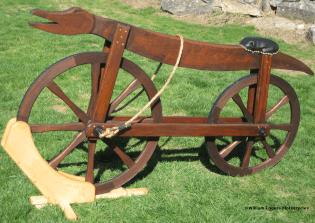 Bill Eggers: Image of 1790 Celerifere Replica