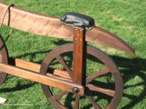 Bill Eggers: Image of 1790 Celerifere Replica - Seat