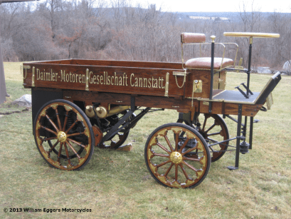 Image of 1896 Daimler Truck on the Right Side