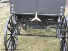 Emblem closeup of Photo of goldleaf Daimler Benz replica