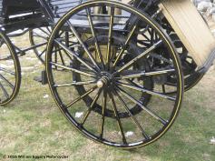 Photo of goldleaf Daimler Benz replica wheel