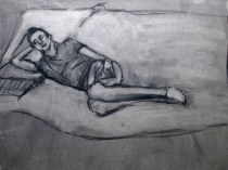 Study of David (No 4), 2008