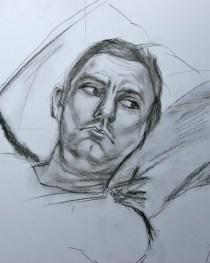 Study of David (No 2), 2007