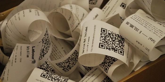 Receipts aren't cancerous despite the claims