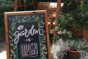Garden William IV London Pub