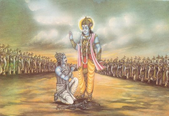 Why I Read the Bhagavad Gita Before Taking My Hikes