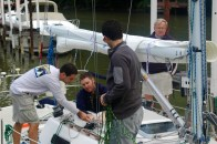 Rigging the spin sheets