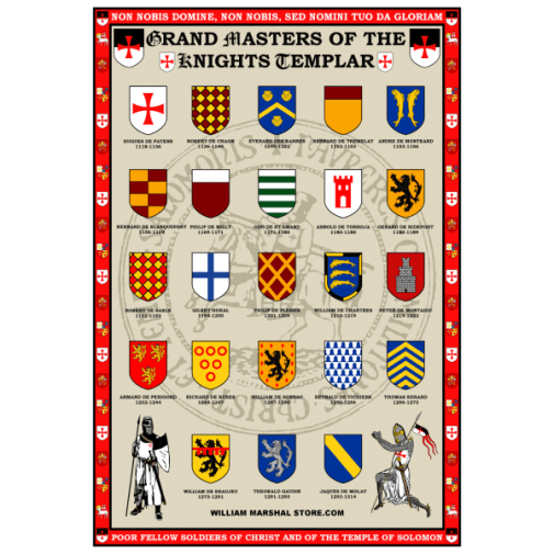 grand-masters-of-the-knights-templar-poster