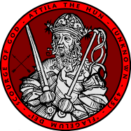 Attila the Hun Portrait Seal - William Marshal Store
