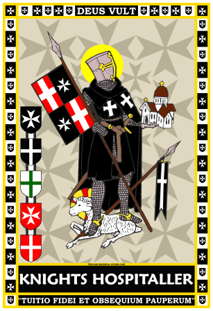 Knights Hospitaller Beasent Poster_William Marshal Store V2