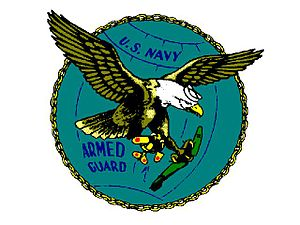 Naval Armed Guard, logo and motto of the U.S. Navy Armed Guard