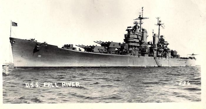 Operation Crossroads - USS Fall River (CA-131)