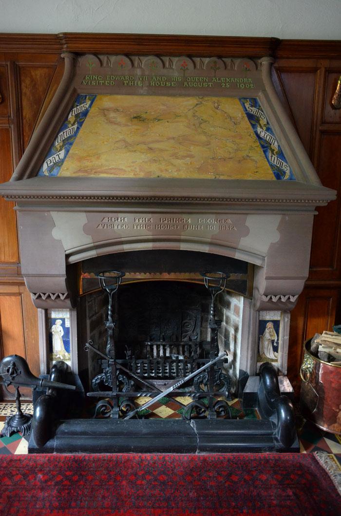 Edward BurneJones Cinderella Fireplace Story Tiles