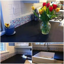 Kitchen Tile Borders And Accent Tiles Customer