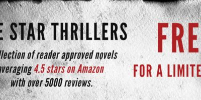 16 thrillers. All free. And all rated at least 4.5 stars!