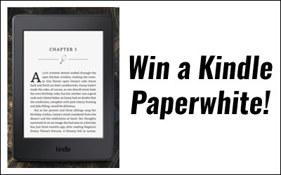 Free books and win a Kindle Paperwhite…