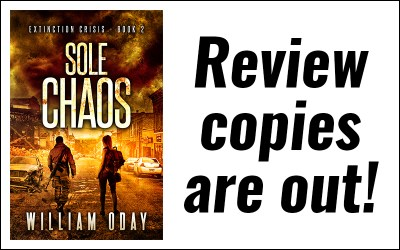 Sole Chaos advance review copies are out!